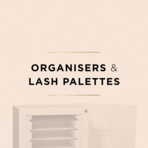 Lash palettes et range palettes