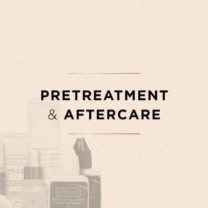 Pré-traitement extensions de cils